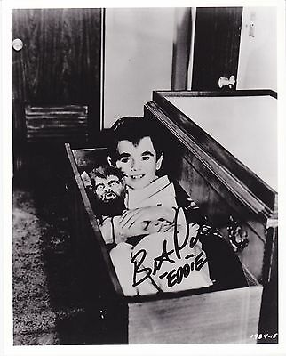 Autographed In Person Butch Patrick (The Munsters)  B & W  8 X 10 Photo