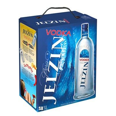 Boris Jelzin Wodka Vodka  BIB Bag in Box 300cl 37,5% vol
