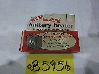Miles Master Battery Heater (NOS)