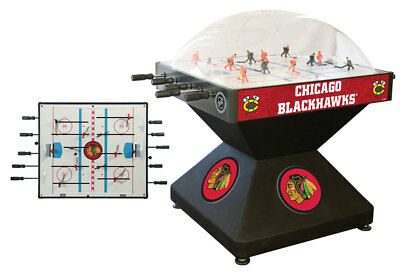 Chicago Blackhawks Dome Bubble Hockey
