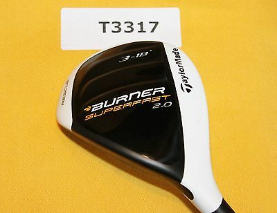 TaylorMade Burner SuperFast 2.0 Rescue 18º 3 Hybrid Regular Graphite NEW LH