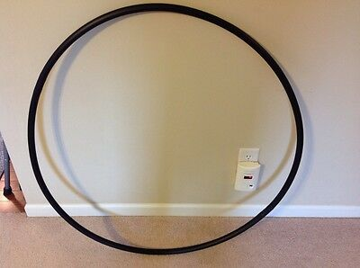 "Naked  Collapsable Dance Hula Hoop, 41"" Diameter!!!!  Can Customize!!!!"
