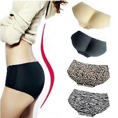 Women Buttock Padded Underwear Shapewear Bum Butt Lift Enhancer Brief Panties