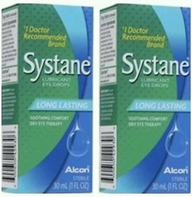 SYSTANE LUBRICANT EYE DROPS (2 boxes of 30ml)(Total Of 60ml)