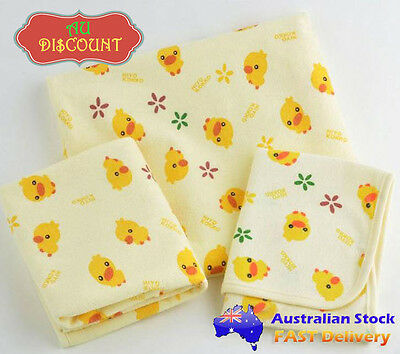 L Waterproof Cotton Toddler Baby Nappy Change Bed Cots Sheet Mattress Protector