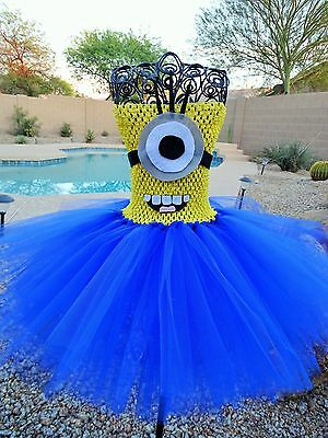 Minion Tutu Dress Newborn to 5T