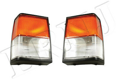 Land Rover Range Rover Classic 1992-1995 Oem Front Side And Flasher Lights Set