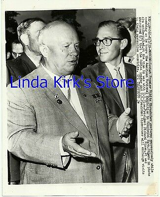Soviet Premier Nikita Khrushchev Photograph American National Exhibition 1959