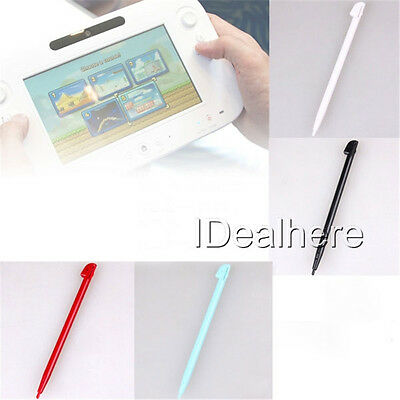 4pcs Stylus Touch Screen Pen For Nintendo Wii U Gamepad Game Pad Colour