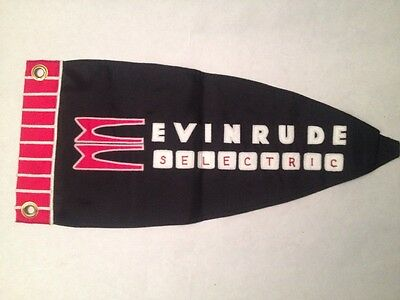 Evinrude Selectric Penant For Boat Flag Pole