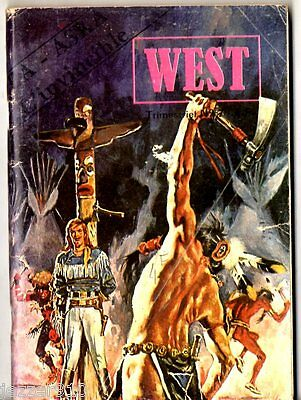 ~+~ WEST  n°7 ~+~ BUFFALO BILL - jeunesse & vacances 1979