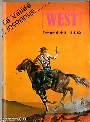 ~+~ WEST  n°5 ~+~ BUFFALO BILL - jeunesse & vacances 1979