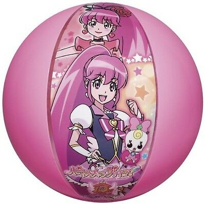 Beach Ball Happiness Charge Precure 40cm Inflatable Float girl Pretty Cure Japan