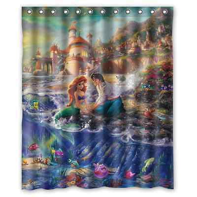 Brand New The Little Mermaid Shower Curtain 60 x 72 Inch