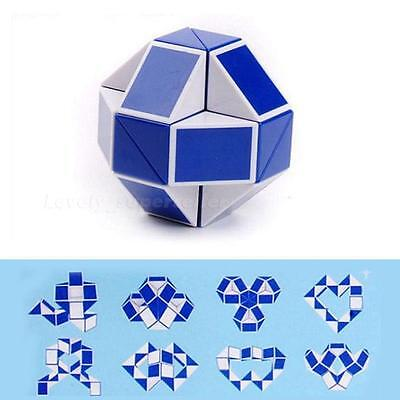 1pcs Magic Snake Shape Toy Game 3D Cube Puzzle Twist Puzzle Toy Gift Random LSRG
