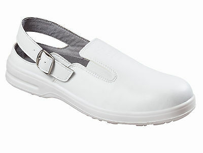 Texxor Safety Clog White 6010 Work Boot New