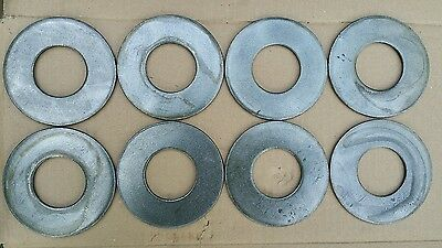 """8 Fractional 0.6 lb Olympic Weight Plates 2"""" Barbell Micro Load"""