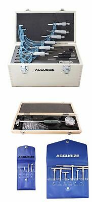 "Toolmaker's Inspection Set with 2-6"" x .0005"" Dial Bore Gage, #EGEE-5006"