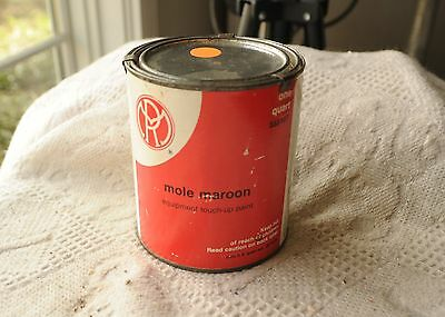 Mole Richardson Maroon paint Quart