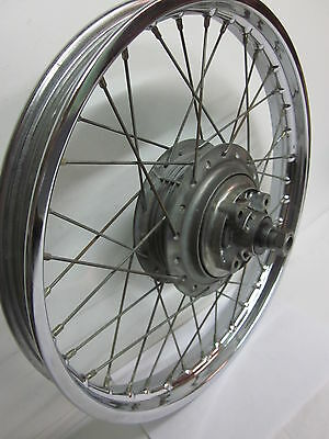Yamaha AS1 AS2 AS3 RD125 68-74 Hinterrad rear  wheel assembly YAS1C YAS2C AS3