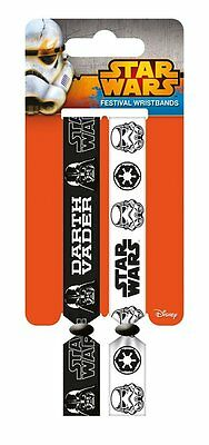 Star Wars (Empire) Pack Of 2 Fabric Festival Wristbands BY PYRAMID FWR680023