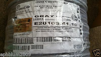 General Cable/Carol E2010S 22/10C Shielded Media/Communication Wire US CMR /40ft