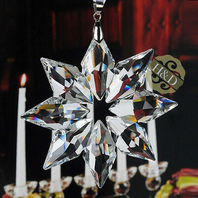 Top 2013 Clear Crystal Ornament Star Suncatcher Collective Prism Christmas Decor