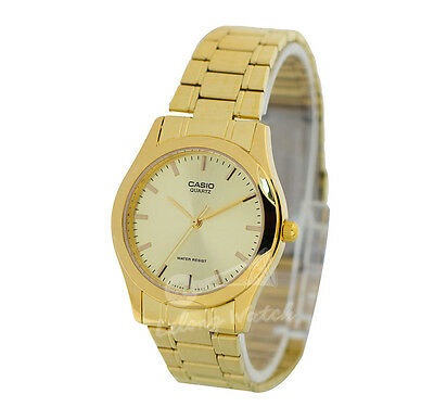 -Casio MTP1275G-9A Men's Metal Fashion Watch Brand New & 100% Authentic
