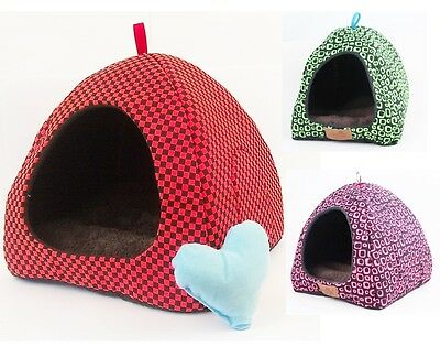 Souple Animal De Compagnie Igloo Chien Chat Lit Maison Niche DOGGY Mode Coussin