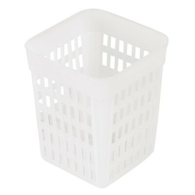 Square Cutlery Basket Kitchen Draining Drying Storage Container