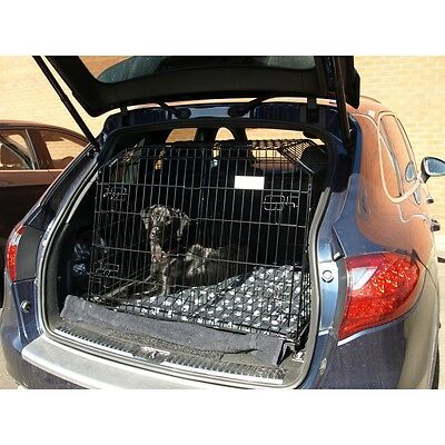 VW TOUAREG 03 - 16 REG Sloping Dog pet puppy travel cage crate transporter