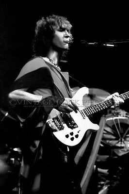 Chris Squire Yes Photo 8x12 or 8x10 inch Vintage '70s Live Concert Pro Print 23
