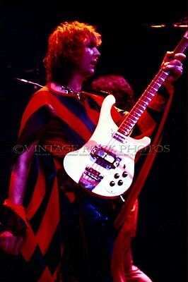 Chris Squire Yes Photo 8x12 or 8x10 inch Vintage '70s Live Concert Pro Print 49
