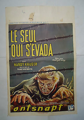 HARDY KRUGER/THE ONE THAT GOT AWAY//belgian poster