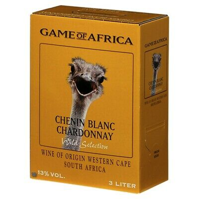Game of Africa Chenin Blanc Chardonnay 300cl BiB Bag in Box 13% vol