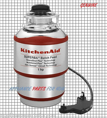 Genuine OEM NEW  KitchenAid 1HP Batch Feed Garbage Disposal KBDS100T W10156760