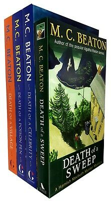 Hamish Macbeth Murder Mystery Series M.C. Beaton Collection 6 Books Set New PB