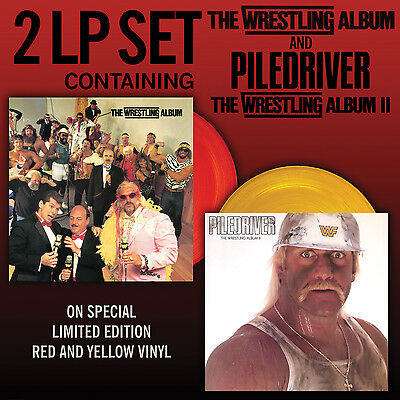 The Wrestling Record Store Day RSD 2015 NEW LIMITED LP