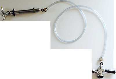 Faucet Kegerator Conversion Hose Keg Couplers Kit