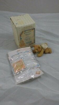 Enesco Cherished Teddies Betsey collectable baby bear ornament figurine boxed