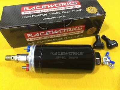 2 YEAR WTY Bosch 044 replacement EFI FUEL PUMP High Pressure and Flow RACEWORKS