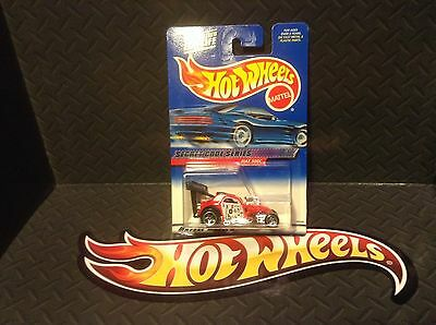 Hot Wheels Fiat 500C #45 Secret Code Series #1 of 4 2000 Red 50 Cent Comb Ship.