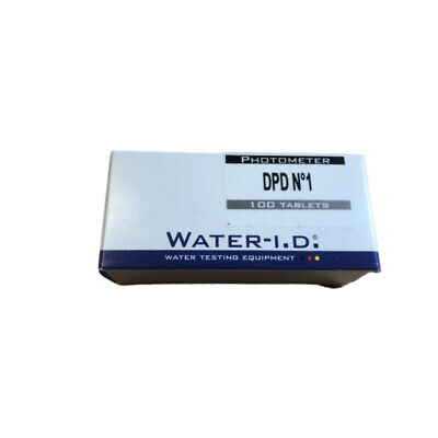100 DPD1 Rapid Tablets Swimming Pool PH Hot tub Spa for Test Kit Chlorine DPD 1