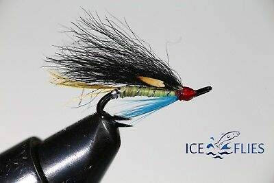 Salmon Fly,Arndilly Fancy , Double Hook. (3-pack) Pick a size. Fly Fishing Fly