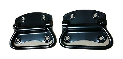"""2 pcs 4"""" CHEST HANDLES,  BLACK Surface Mount Trunk Handle, FREE SHIPPING"""