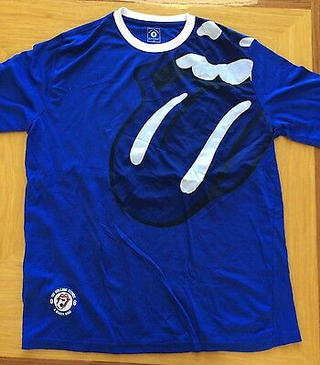 Rolling Stones Soccer Jersey from 2006 Bigger Bang Tour World Cup Shirt - XL