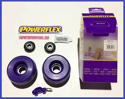 VW Golf MK2 GTI VR6 G60 Rallye Powerflex Front Strut Top Mounts + Free Bearings