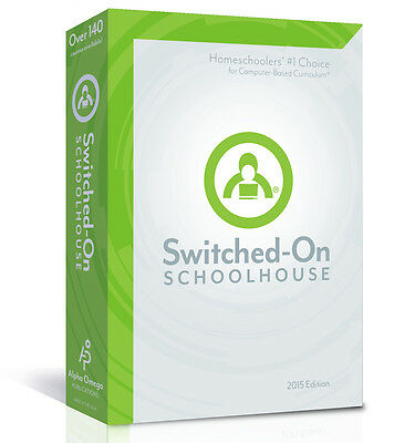 SOS Switched On Schoolhouse Math Grade 12 2016 Edition Pre-Calculus Software NEW