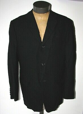 Banana Republic Men's Black Wool 2-Button Blazer Sportcoat Sz. 40R Suit Coat