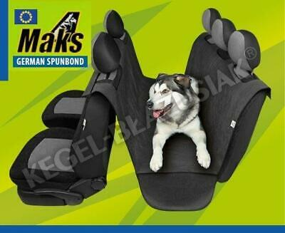 SAFETY Car Rear Back Seat Cover Pet Dog Cat Protector Hammock Mat Liner MAKS